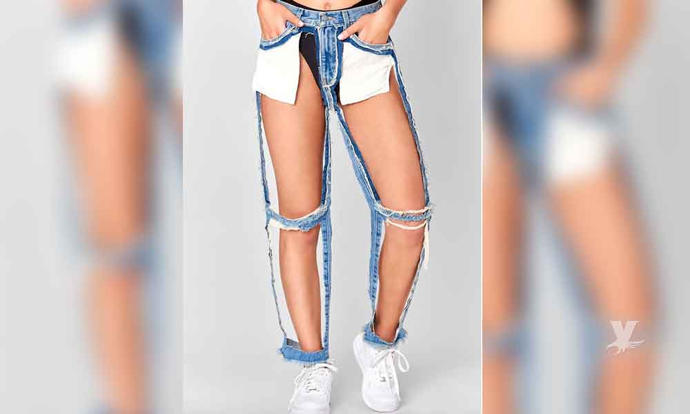 Pantalon Rasgado Extremo La Nueva Moda Para El Verano Veraz Informa