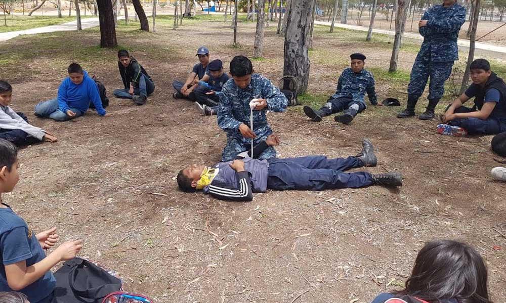 Participan 800 menores en jornadas de la Policía Juvenil en Tijuana