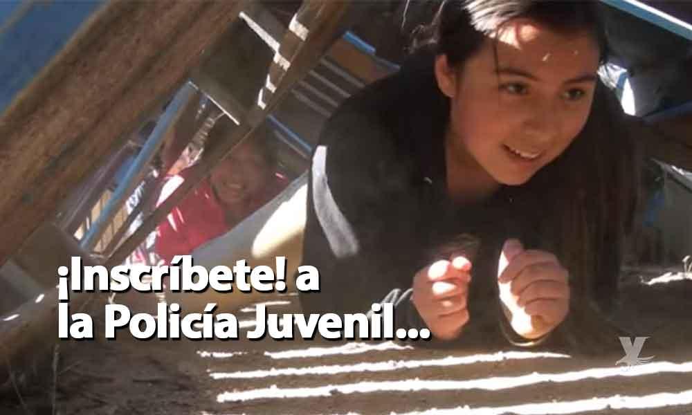 Defensa personal, rappel y campismo, entre las actividades de la Policía Juvenil de Tecate, abren inscripciones ¡Es gratuito!