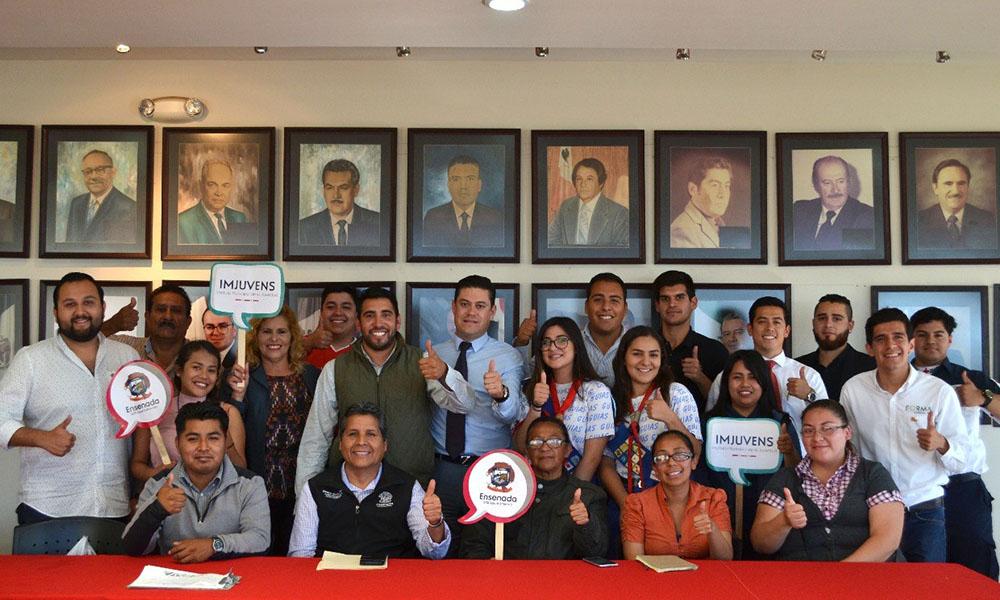 Realiza Imjuvens tercera reunión con líderes juveniles en Ensenada