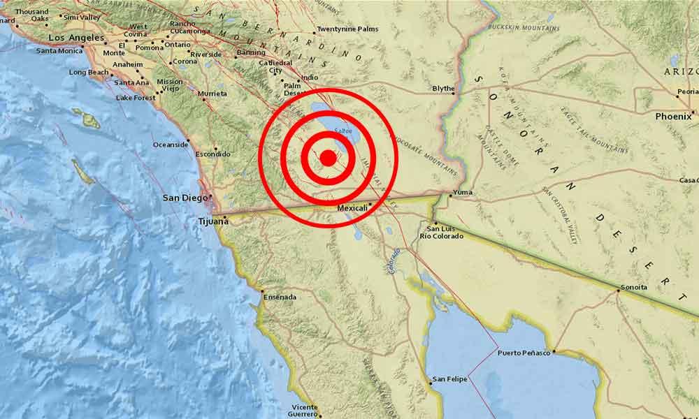 Una serie de 9 sismos han sacudido el sur de San Diego