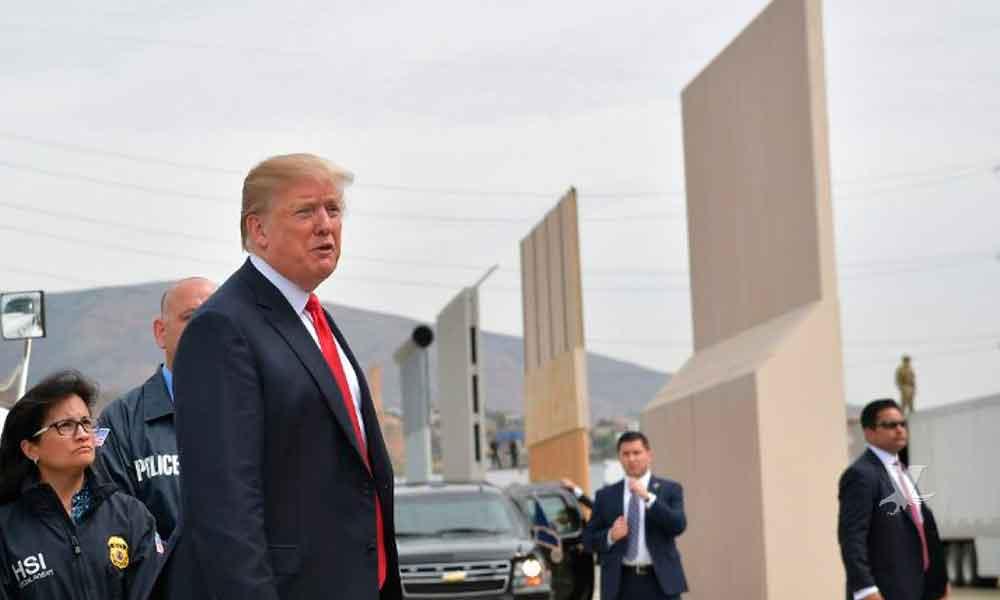"""Levantar el muro fronterizo será la única manera de aceptar a los """"Dreamers"""": Donald Trump"""