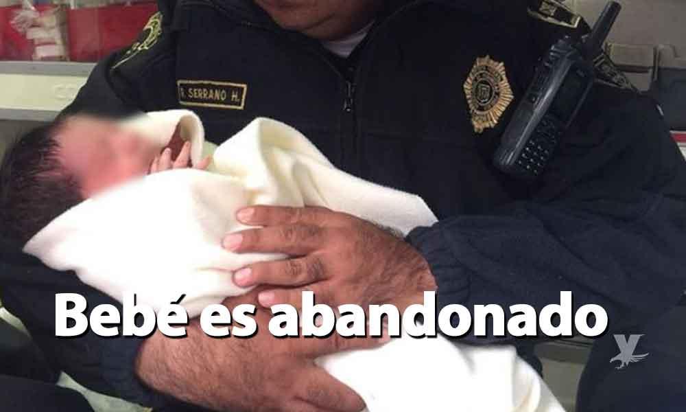 ¡Indignante! Abandonan a recién nacido en bolsa de mandado