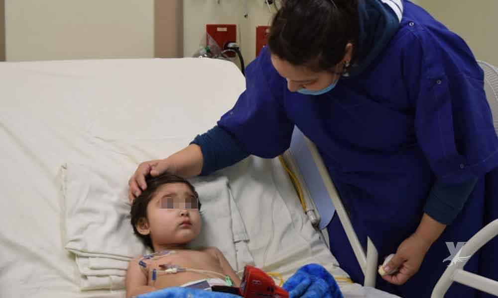 Madre e hijo luchan contra el cáncer en el Hospital General de Tijuana