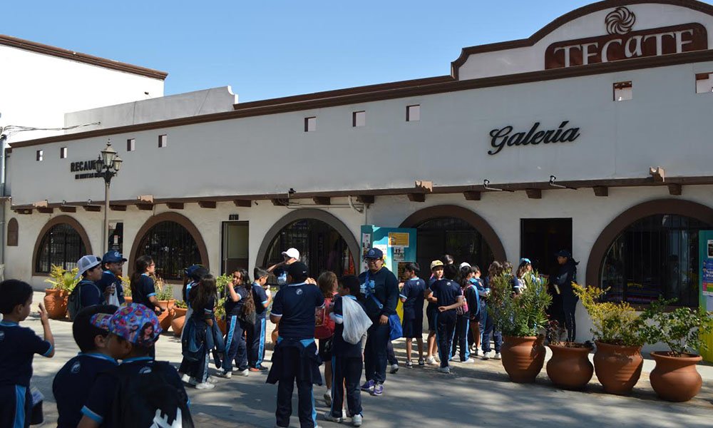 Visitan alumnos Tijuana el Instituto de Cultura de Baja California en Tecate
