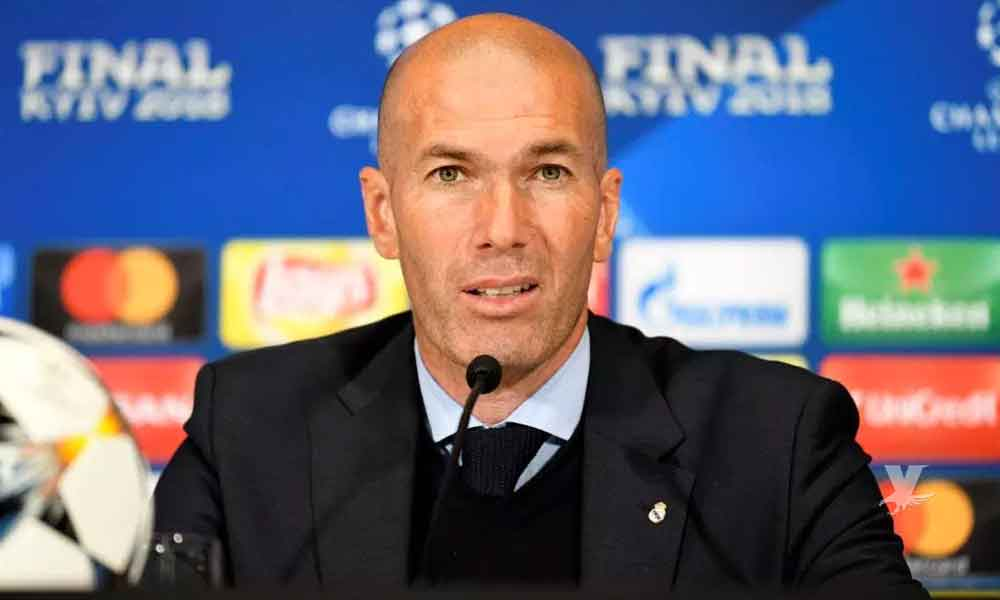 Zinedine Zidane deja de ser el entrenador del Real Madrid