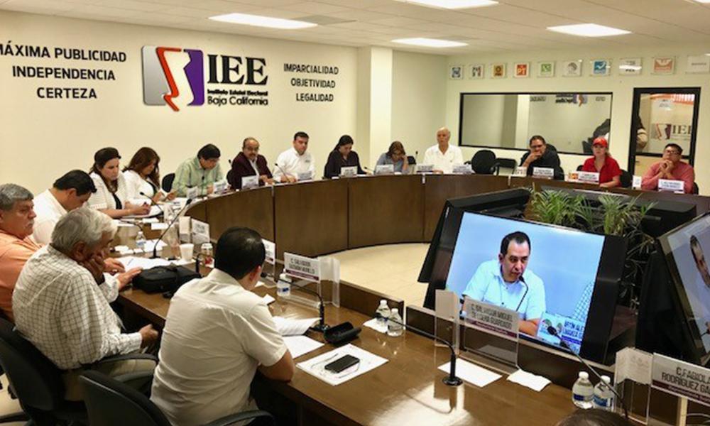 Celebran Consejo General octava Sesión extraordinaria en Mexicali