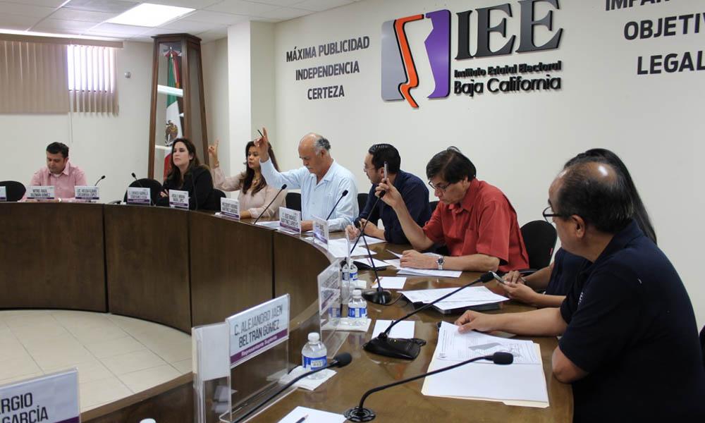 Aprueba Comisión Especial de Administración del IEEBC transferencias de partidas presupuestales