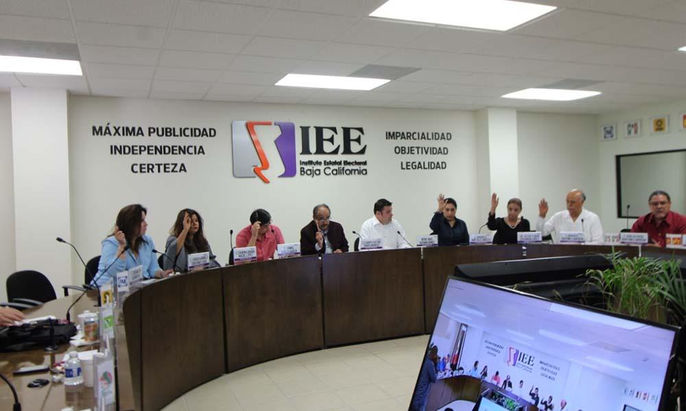 Aprueba IEEBC transferencia de partidas presupuestales