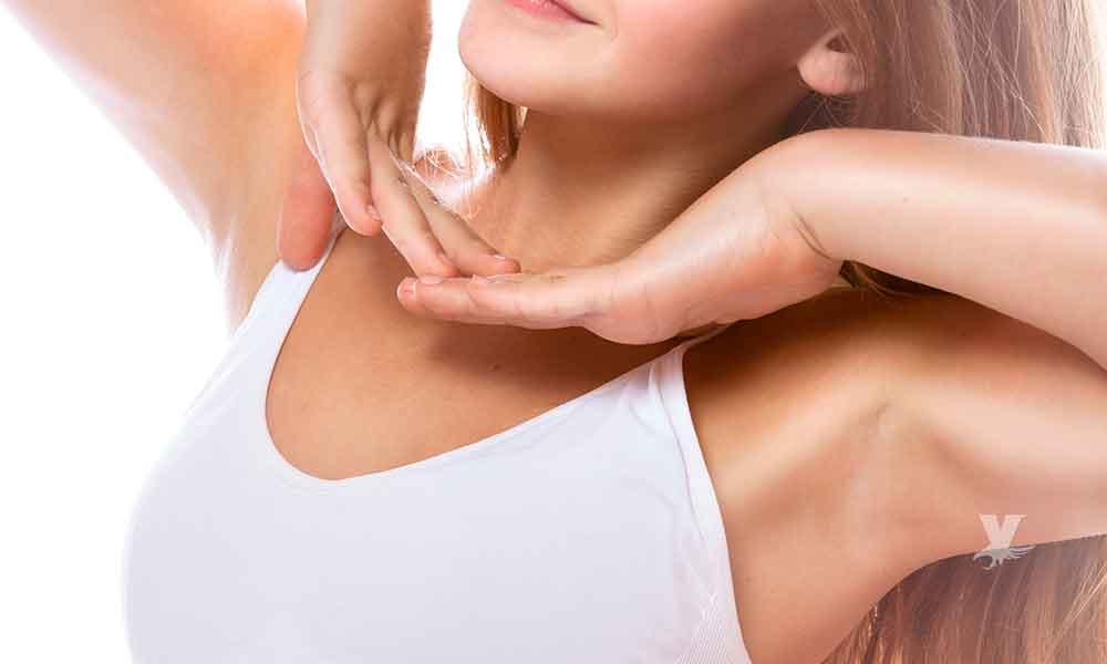 Las axilas pueden prevenirte de posibles enfermedades