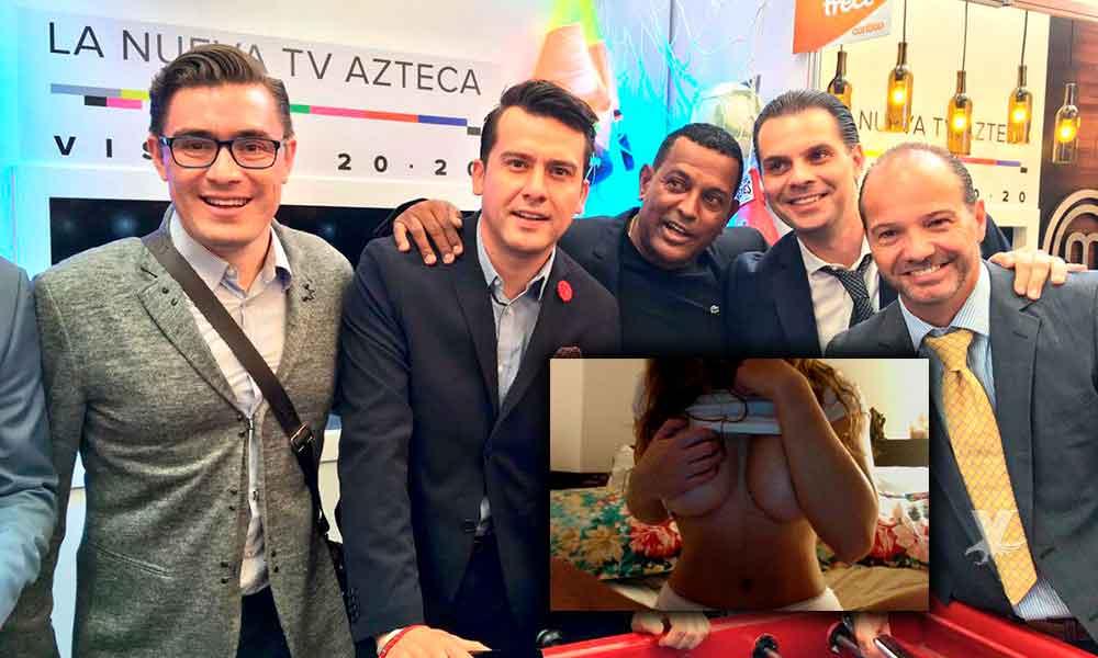 Despiden a comentarista de Tv Azteca por filtrar video XXX de Patty López de la Cerda