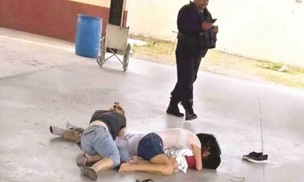 Bala perdida mata a estudiante en el patio de Secundaria