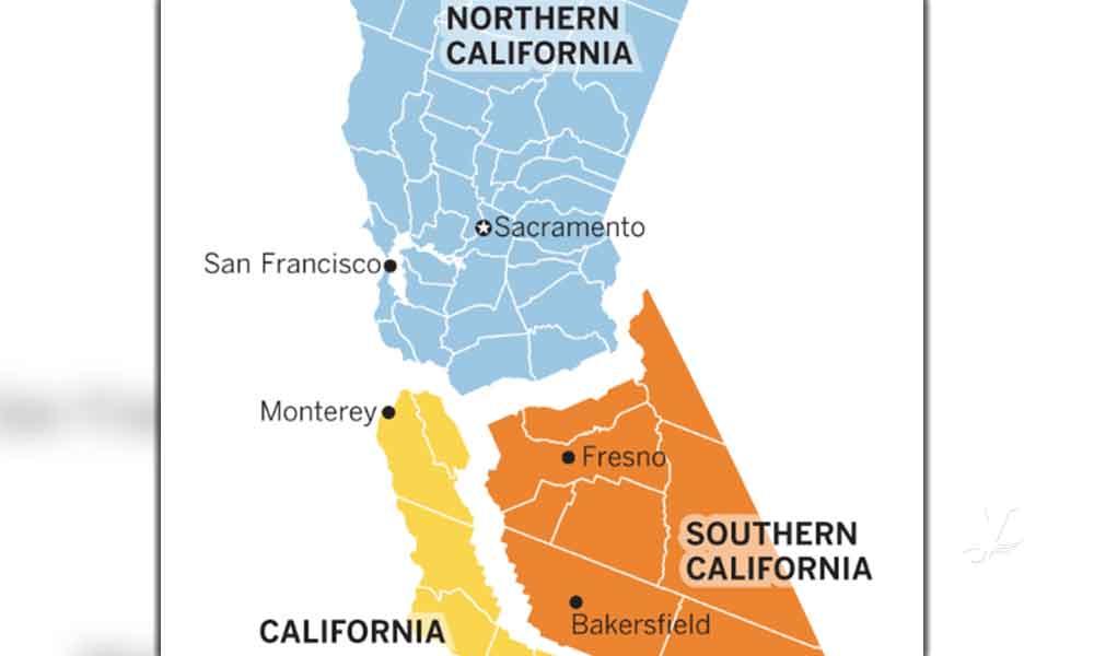 Habrá elecciones para saber si dividen en tres Estados a California