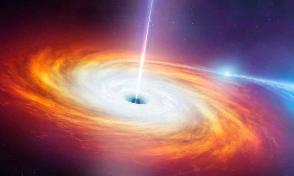 """Captan a un agujero negro """"devorando"""" una estrella (VIDEO)"""
