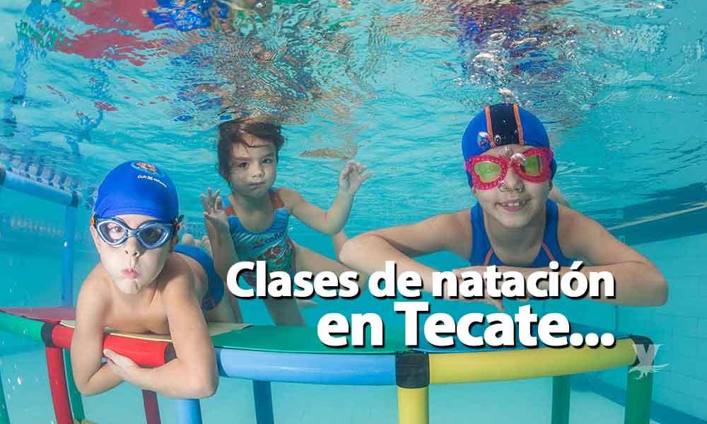 Invitan a clases de natación en el Eufrasio Santana en Tecate; Niños y adultos