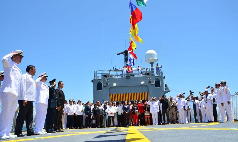Conmemoran el aniversario LXXVI de el Día de la Marina Nacional en Ensenada