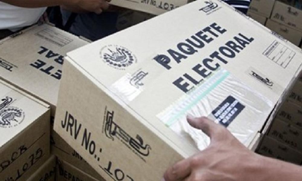 Entregarán desde el 25 de junio paquetes electorales a presidentes de casillas: INE