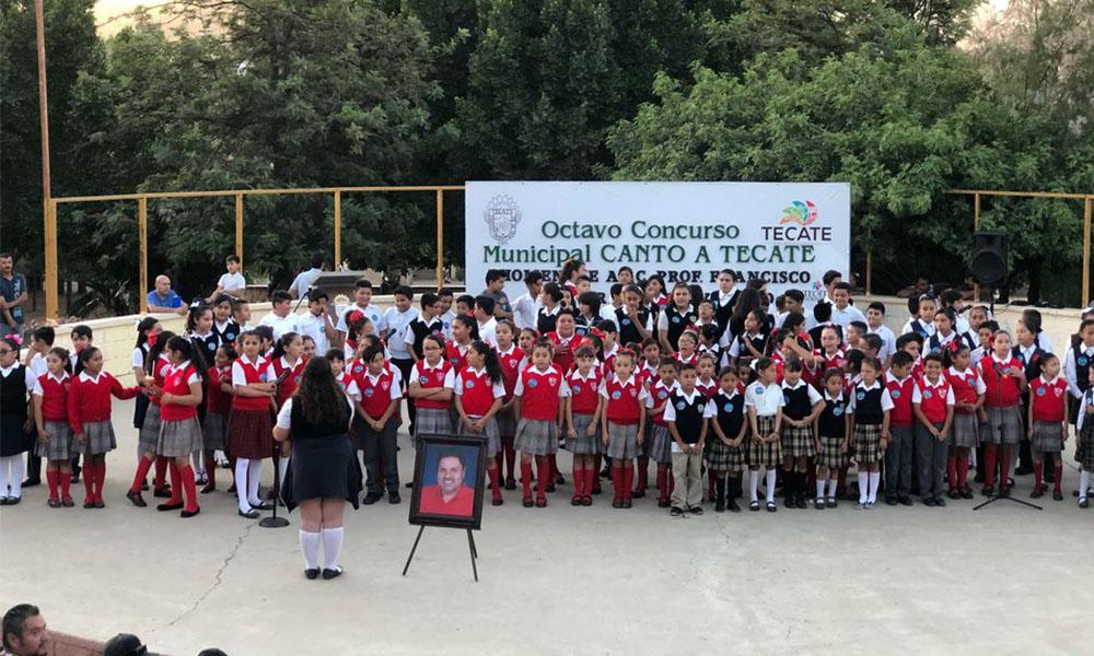 """Realizaron con éxito el 8vo concurso de """"Canto a Tecate"""""""