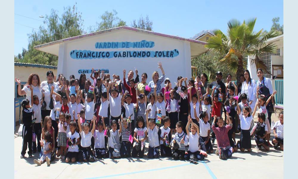 Llevan la Feria de Valores de DIF Tecate, a Jardín de Niños de Nueva Colonia Hindú
