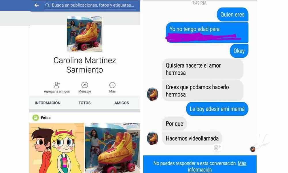 Reportan en Baja California perfil falso de facebook para acosar a menores de edad