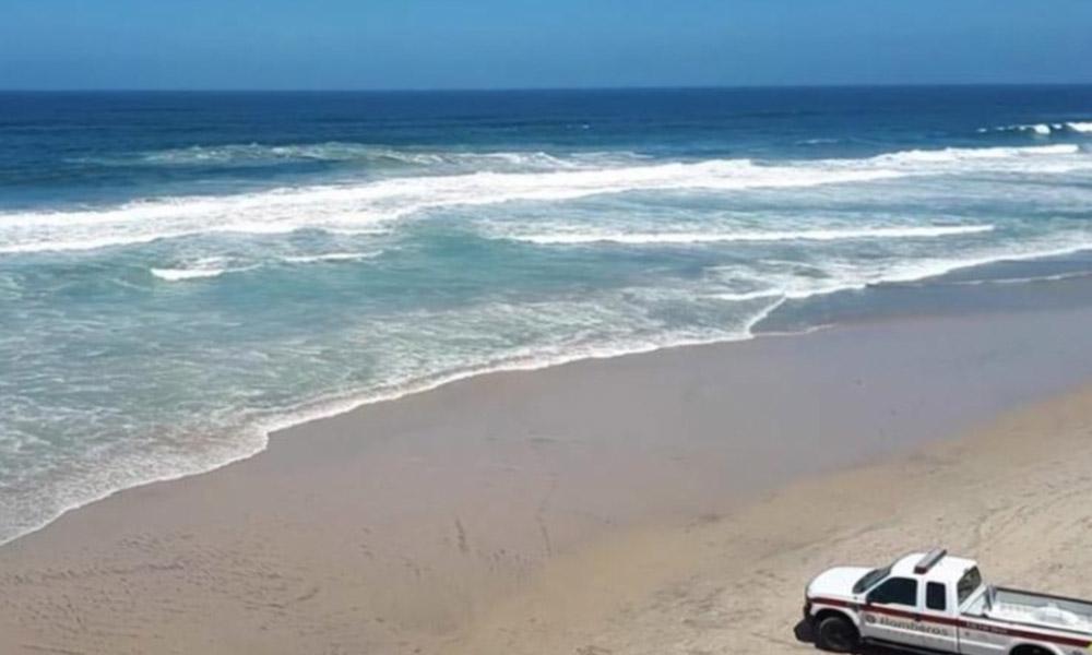 Piden no visitar playas de Tijuana por oleaje alto