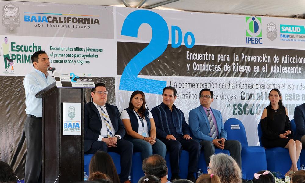 Realizan encuentro para prevención de adicciones y conductas de riesgo en Tijuana