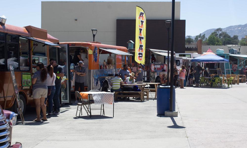 """Sabor y Diversión se vivió en la Segunda Edición del """"Food Truck Fest 2018"""" en Tecate"""
