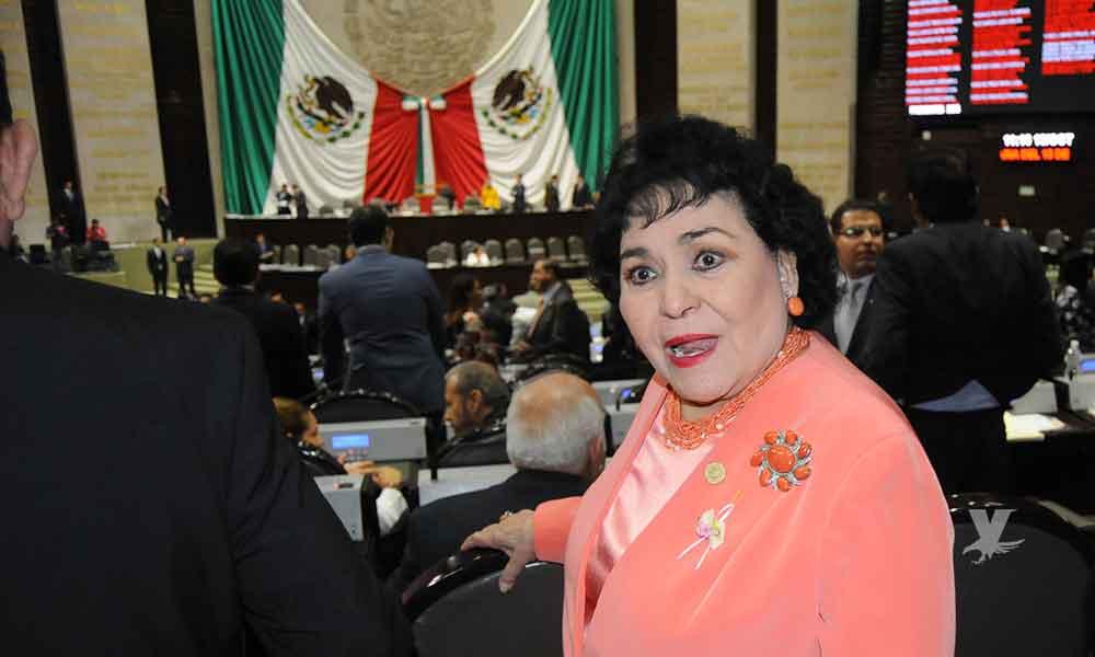 "Carmen Salinas regresa a la pantalla chica a la telenovela ""Mi marido tiene familia"""