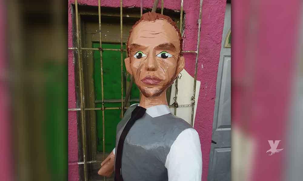 """Sale a la venta """"Impresionante"""" piñata de Zague"""