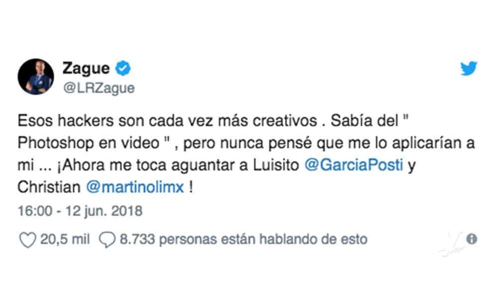 Filtran supuesto video íntimo de Zague y Twitter espera la reacción de Paola Rojas