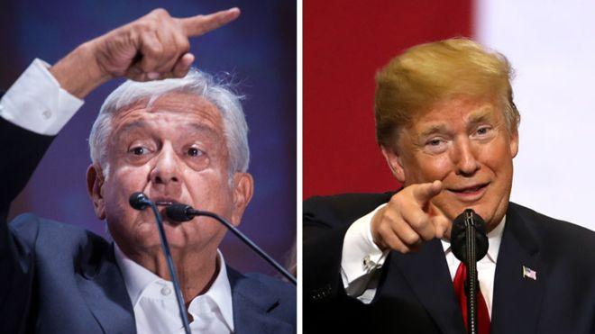 """Juan Trump"", así llama el presidente de EU a López Obrador"