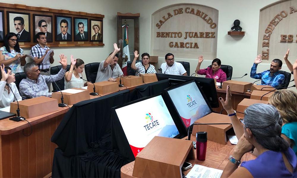 Cabildo desincorpora bienes inmuebles para beneficio de deportistas en Tecate