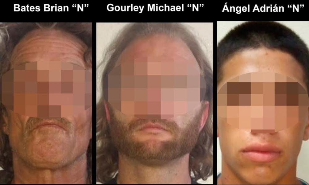 Arrestan a tres sujetos en posesión de armas en Tijuana, dos son  estadounidenses