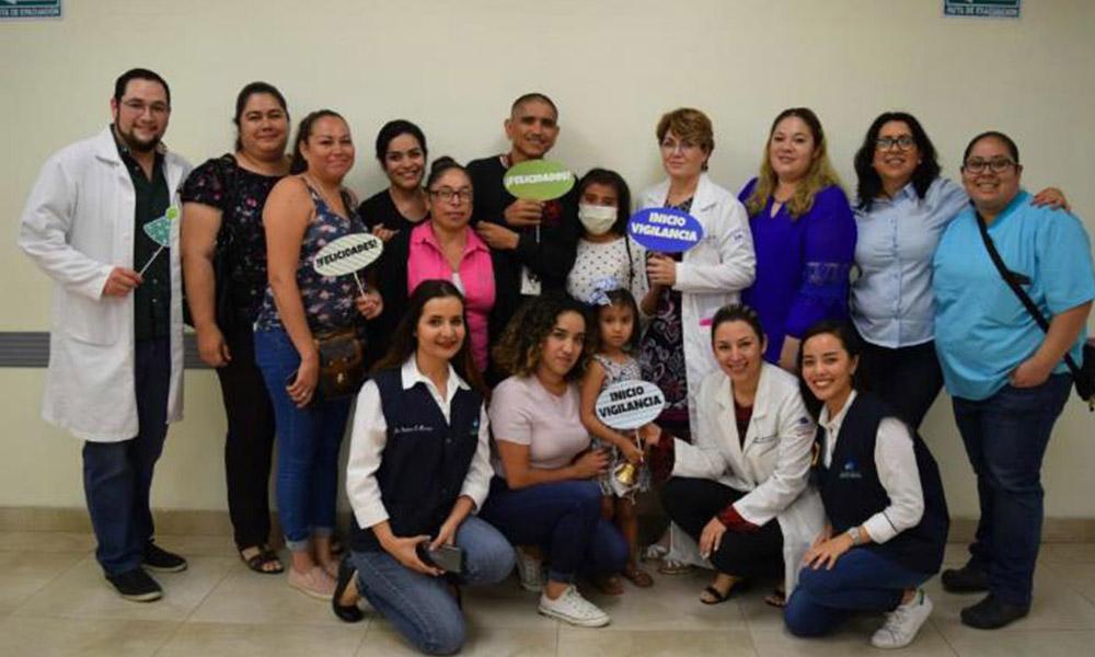Ingrid y Emily, vencen el cáncer tras dos años de lucha, en Tijuana
