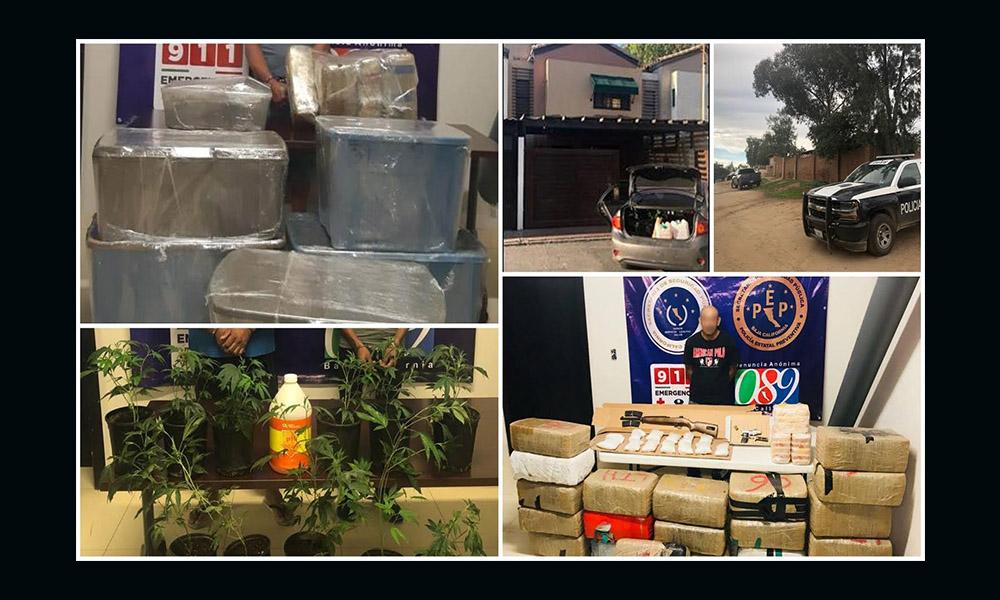 Logran desarticular de 56 grupo delictivos en Baja California