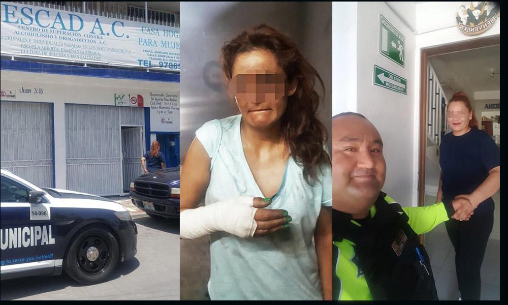 Policía Municipal apoya a familia para localizar a mujer tras años de no verla