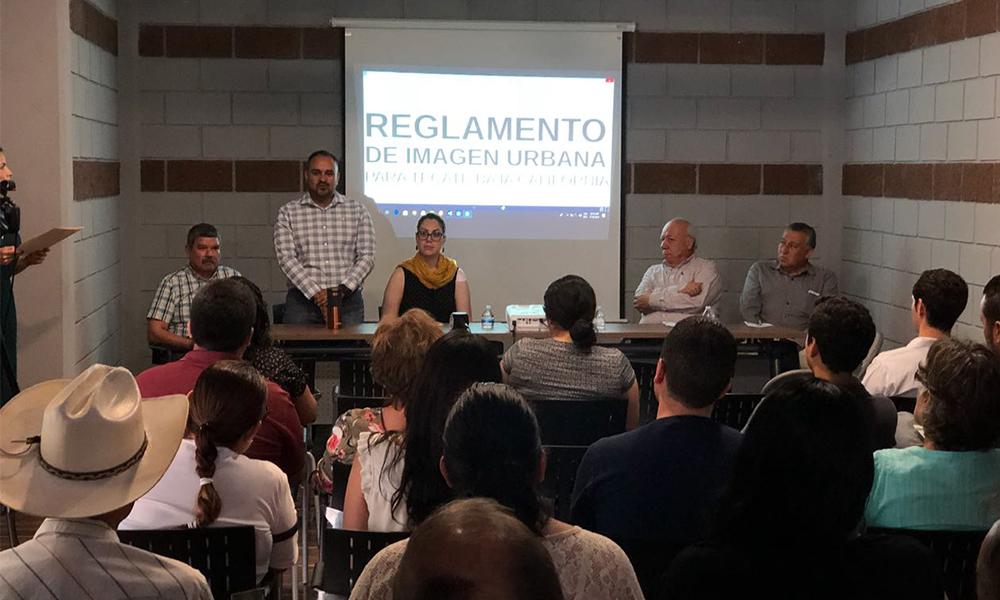 Presentan a comerciantes de Tecate el Proyecto del Reglamento de Imagen Urbana