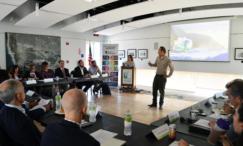 Reúne Tijuana Verde a expertos en materia ambiental de Imperial Beach