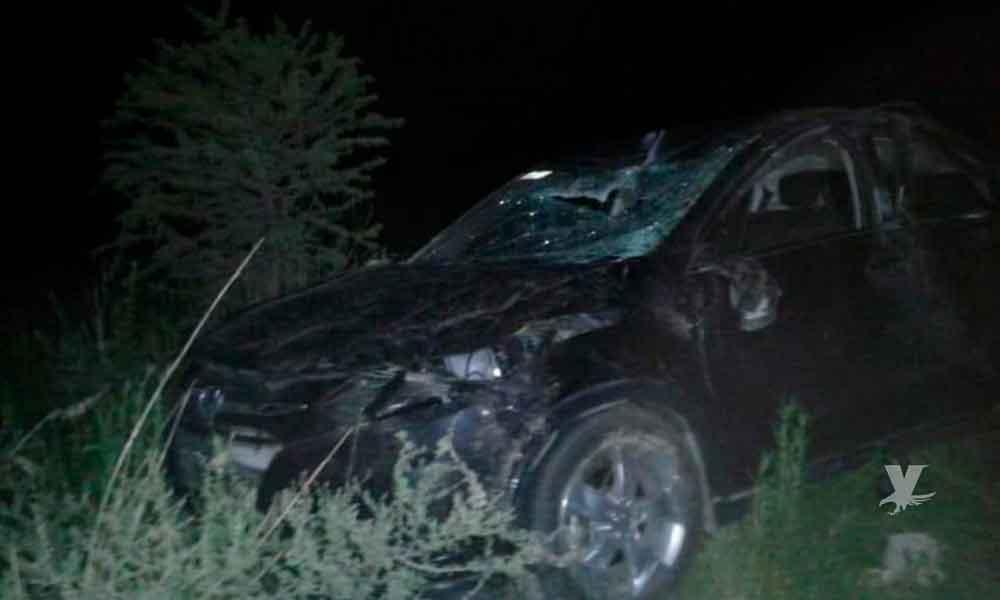 Joven pierde la vida en accidente vehicular sobre la avenida México en Tecate