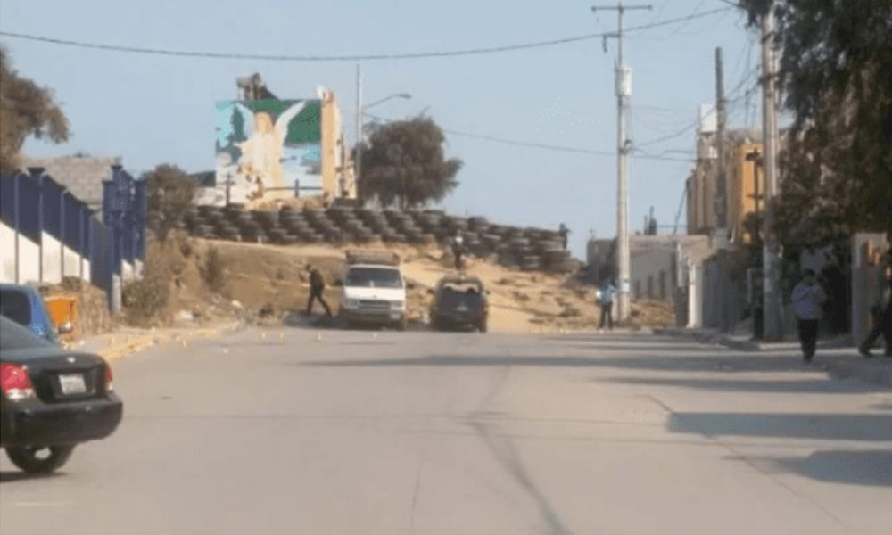Adolescente resulta herido tras balacera frente a Secundaria en Tijuana (VIDEO)