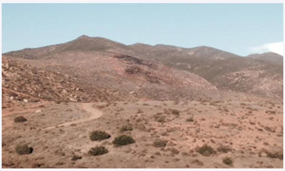 Localizan Agentes de la Patrulla Fronteriza un cuerpo en la ladera de la montaña de Otay