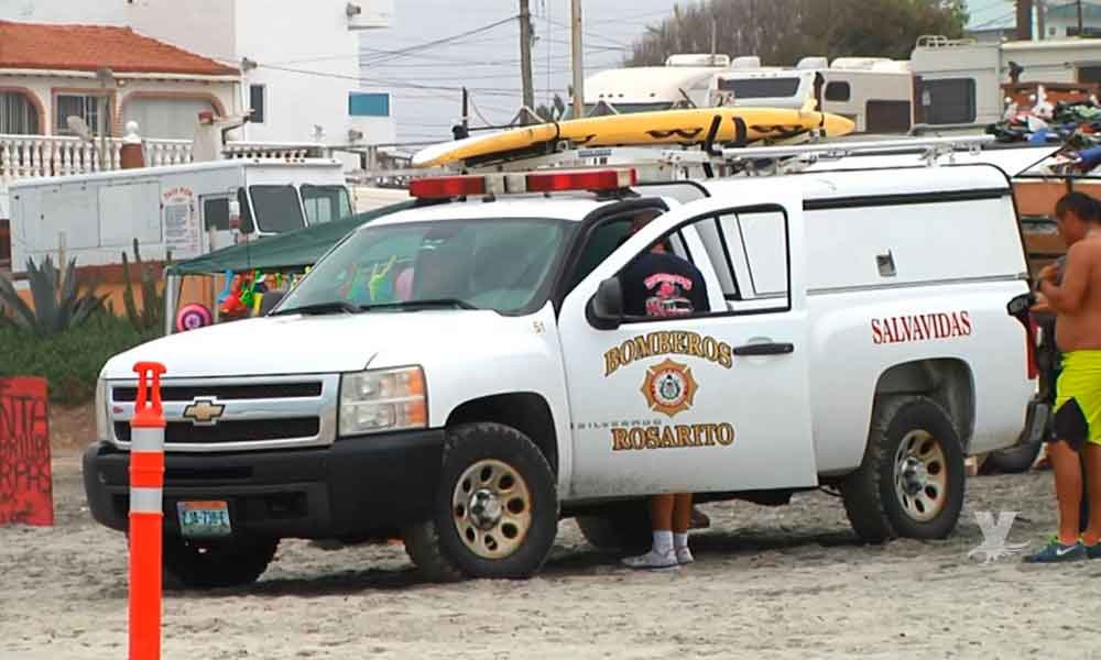 (VIDEO) Menor de 13 años fue arrastrado por el mar y falleció por ahogamiento en Playas de Rosarito