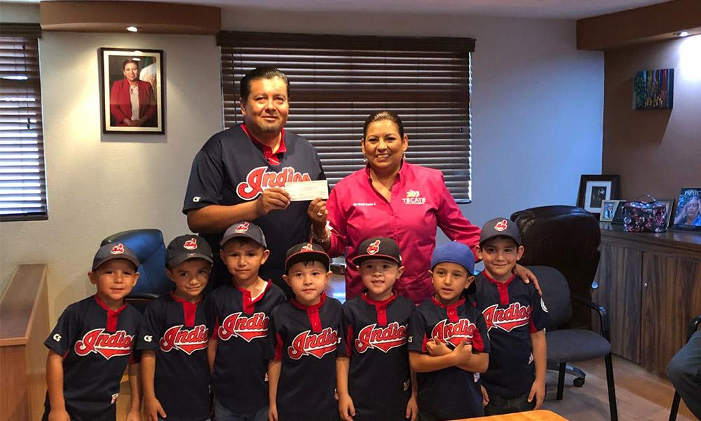 Apoyan al equipo de béisbol infantil Indios Tecate, que competirá en Torneo Nacional