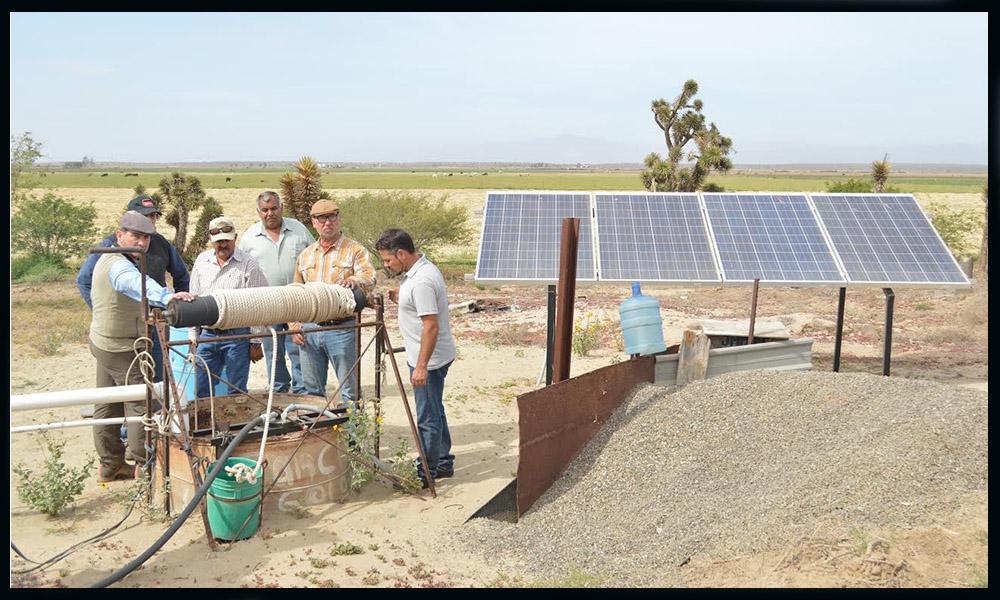Apoyan en la rehabilitación y equipamiento de pozos en la zona costa de Baja California