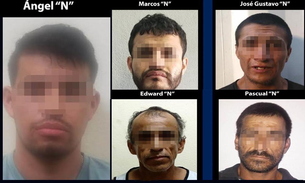 Aprehenden a cinco sujetos narcomenudistas en Tijuana