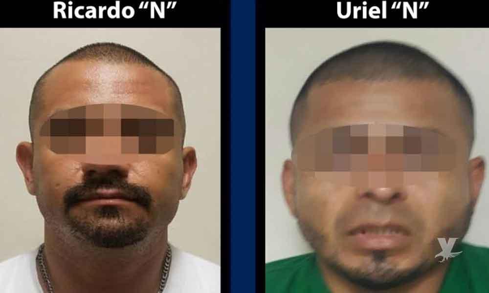 Arrestan a dos sujetos con armas y auto robado en Tijuana
