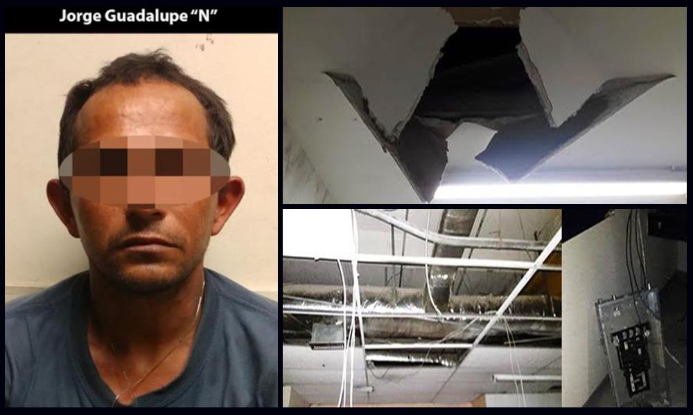Arrestan a sujeto por robo a comercios en Tijuana