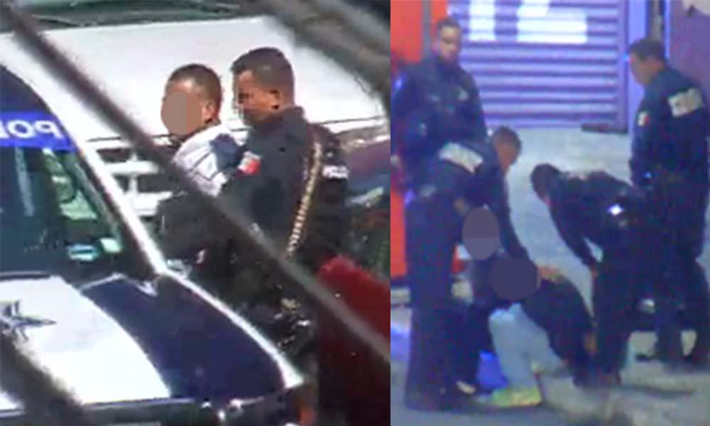 Aseguran a dos delincuentes con apoyo del C2 en Tijuana