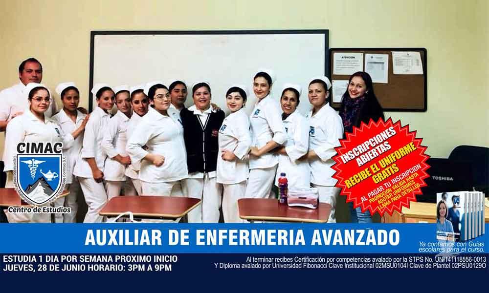 Abre CIMAC inscripciones en curso de Auxiliar en Enfermería en Tecate