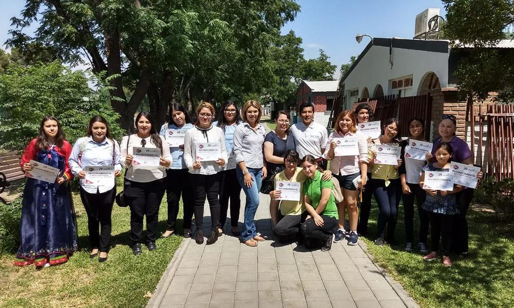 Concluyó exitosamente curso de coreano en Tecate